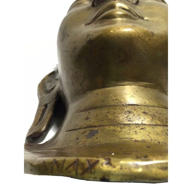 Vintage Brass Head Buddha - Image 6 of 7