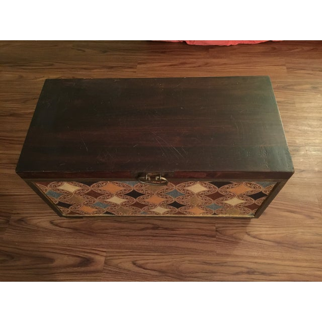 Moroccan Style Trunk - Image 2 of 6