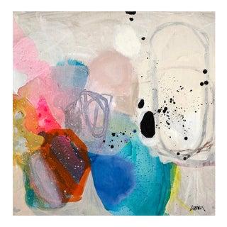 Bubble Gum Bliss Painting by Elizabeth Saven