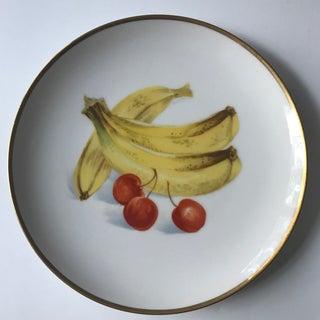 Vintage Mid-Century Fruit Motif Plates - A Pair Preview