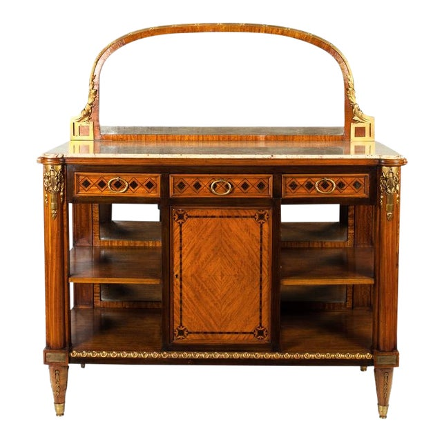 Louis XV Marble-Top Server For Sale