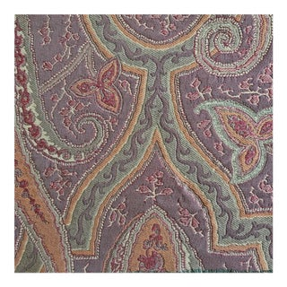 Pg Tessuti Sawyer Paisley Designer Fabric by the Yard For Sale