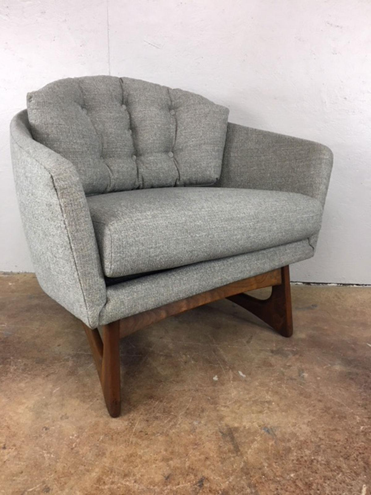 Adrian Pearsall Wide Barrel Lounge Chair For Craft Associates   Image 2 Of 8