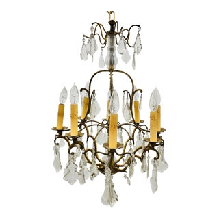 Antique French Style Chandelier For Sale