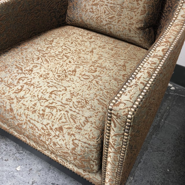 Ironies Tule Lounge Chairs- a Pair For Sale - Image 9 of 13