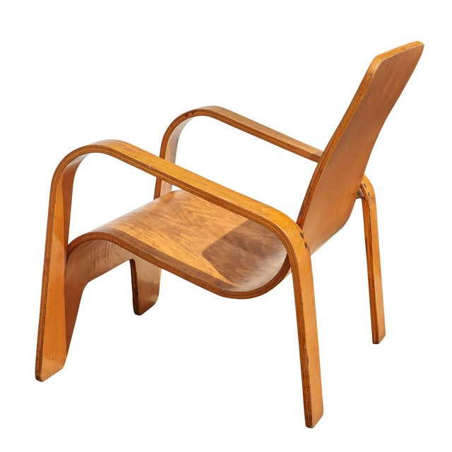 The Lawo chair, so named because it was made of LA-minated WO-od, was brilliantly constructed from a single sheet of birch...