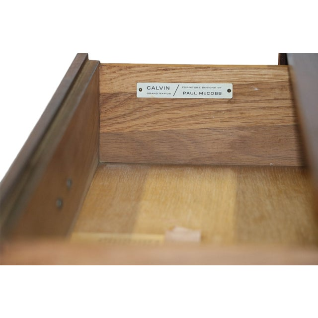 Paul McCobb Mid-Century Walnut Dresser - Image 7 of 10