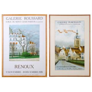 André Renoux Paris, France and Belgian Exhibition Posters - A Pair For Sale