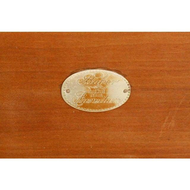 Gold t.h. Robsjohn-Gibbings Neoclassical Cocktail Table for Baker For Sale - Image 8 of 13