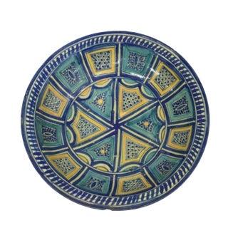 Rare Pre-War Mexican Spanish Colonial Talavera Bowl - Circa 1800 For Sale