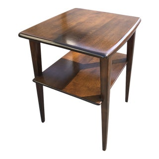 1950s Art Deco Heywood Wakefield Lamp Table For Sale