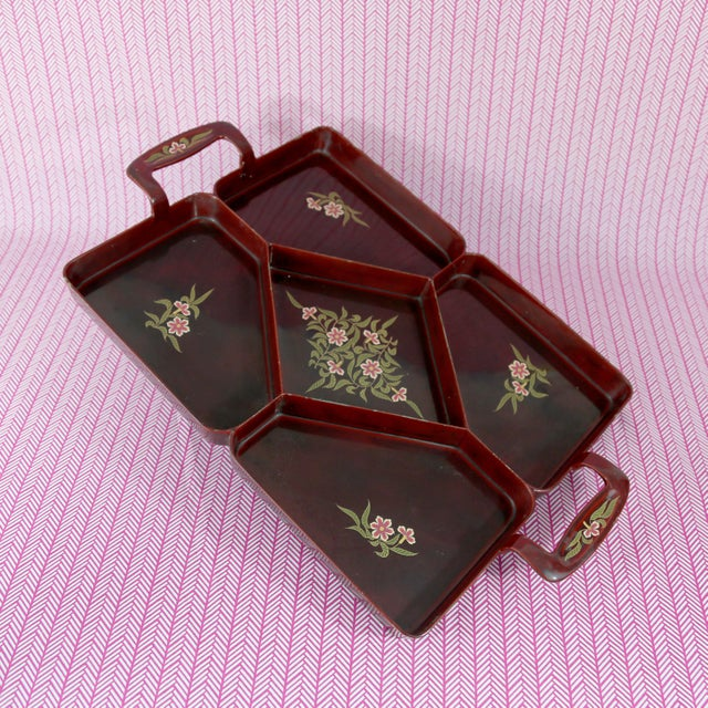 Vintage Maruni Lacquerware Tray For Sale - Image 10 of 10