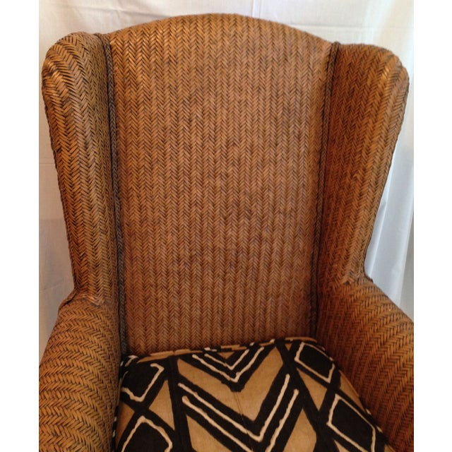 Canvas Oversize Padma Plantation Chair For Sale - Image 7 of 7