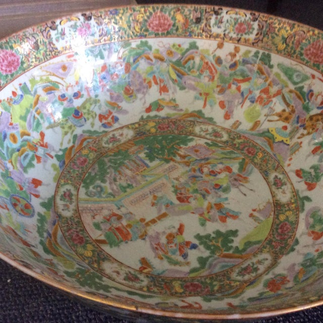 Chinese Export Punch Bowl For Sale - Image 4 of 9