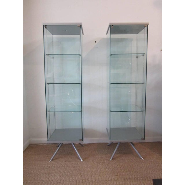 Glass Display Cabinets - A Pair - Image 2 of 11