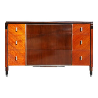 1950s Art Deco Northern Furniture Company Dresser/Chest of Drawers For Sale