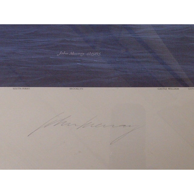 John Mecray New York Harbour Print, 1851 For Sale In Pittsburgh - Image 6 of 10