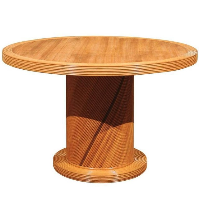 Elegant Circular Center or Dining Table by Bielecky Brothers For Sale - Image 10 of 10