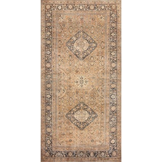 Oversized Antique Khorassan Persian Rug - 12′4″ × 24′6″ For Sale