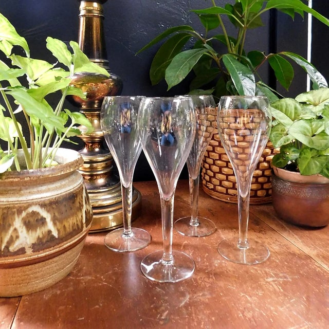 Fluted Spritzer Glasses - Set of 4 For Sale - Image 4 of 7