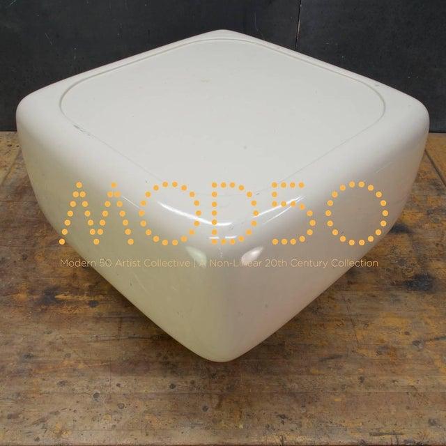 Fiberglass Levitating Fiberglass Mushroom Table William Andrus Midcentury as Wendell Castle For Sale - Image 7 of 8