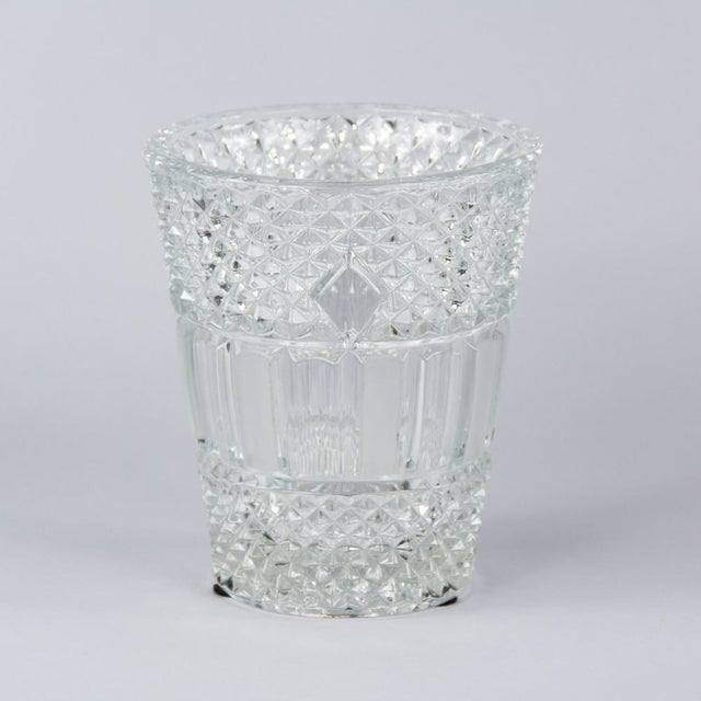 French Cut Crystal Champagne Bucket, 20th Century - Image 5 of 11