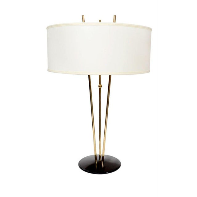 Brass Gerald Thurston for Lightolier Table Lamps For Sale - Image 7 of 8
