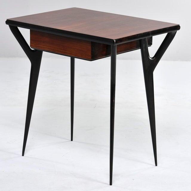 Small Mid Century Italian Desk For Sale - Image 10 of 12