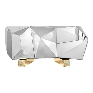 Diamond Pyrite Sideboard For Sale