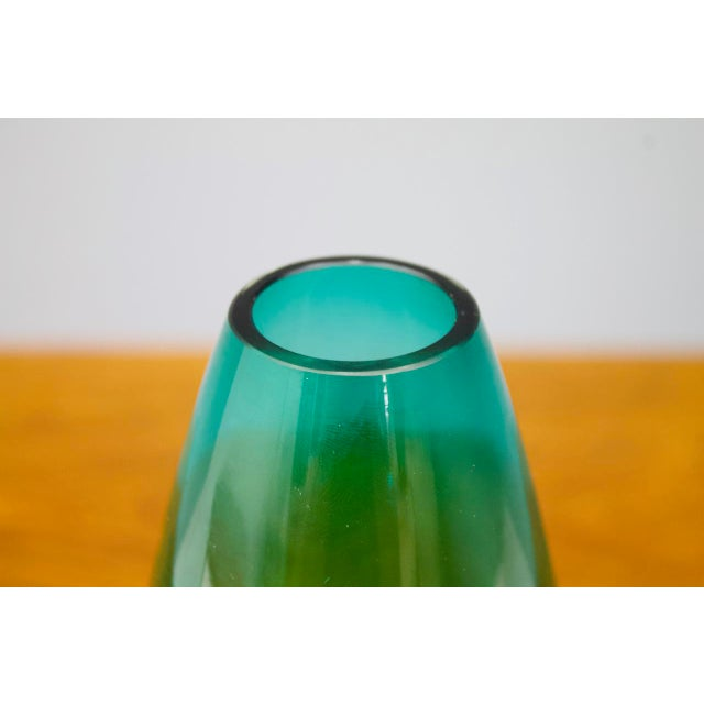 Mid-Century Modern Glas Vase by Tamara Aladin for Riihimaki Lasi Oy, Finland, 1960 For Sale - Image 3 of 7