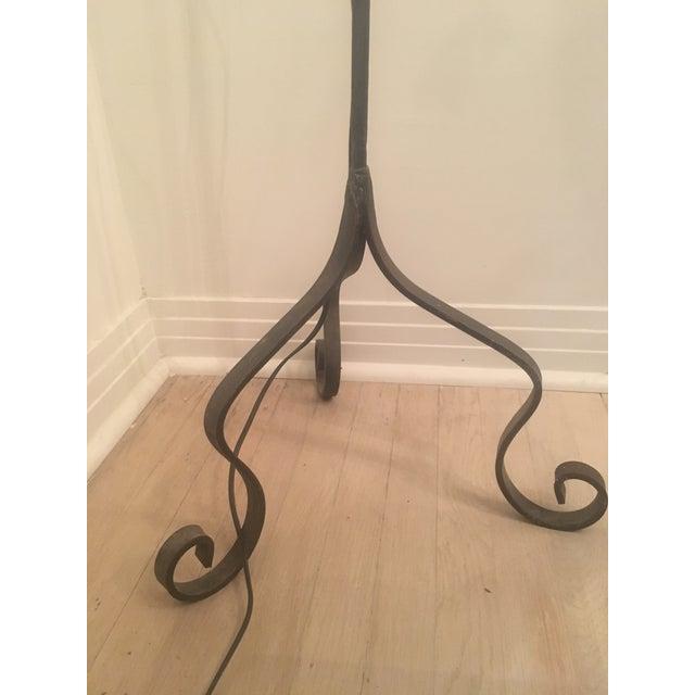 Vintage Iron Floor Lamp - Image 5 of 6