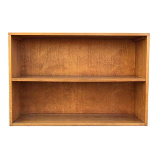 Paul McCobb Planner Group Minimalist Birch Bookcase For Sale