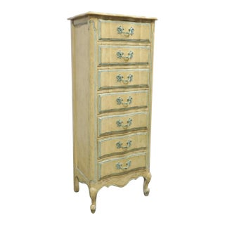 Maslow Freen NY French Provincial Lingerie Chest For Sale