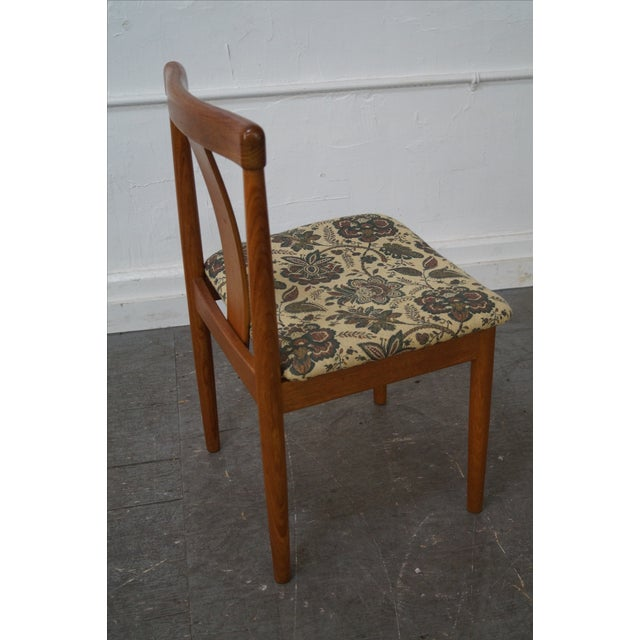 Danish Modern Dining Chair by Vamdrup Stolefabrik For Sale - Image 9 of 10
