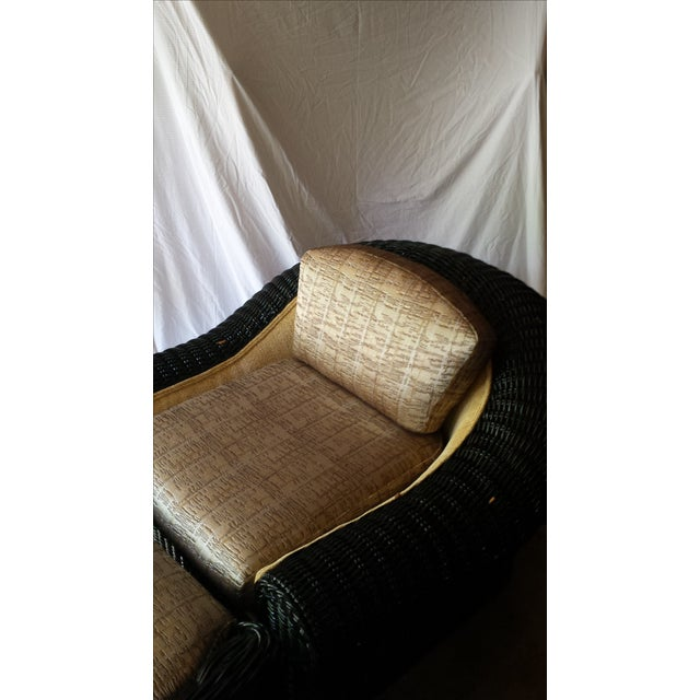 Modern Casa Bella Chair and Ottoman For Sale - Image 3 of 7