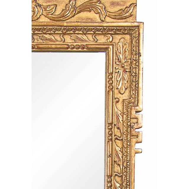 Early 20th Century Late 20th Century Georgian Style Hand-Carved and Gilt Mirror For Sale - Image 5 of 6