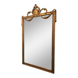 Friedman Brothers Ogilvy Gold Mirror For Sale