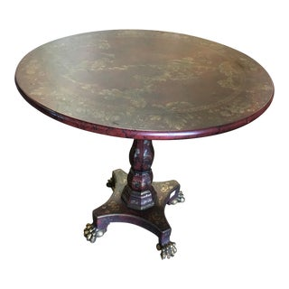Mario Buatta John Widdicomb Chinese Painted Table
