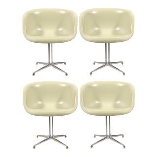 Set of Four Eames and Girard Armchairs for La Fonda by Herman Miller For Sale