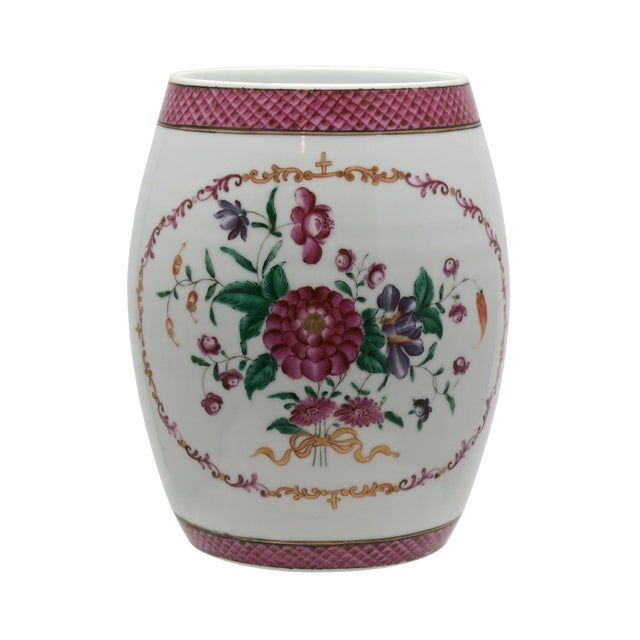Late 18th Century Late 18th Century Vintage Chinese Export Porcelain Handled Cup For Sale - Image 5 of 5