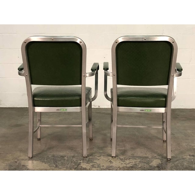 Cole Steel Mid-Century Industrial Office Chair by Cole-Steel ~ a Pair For Sale - Image 4 of 10