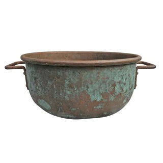 Early 20th Century American Copper Confectioner's Pot For Sale