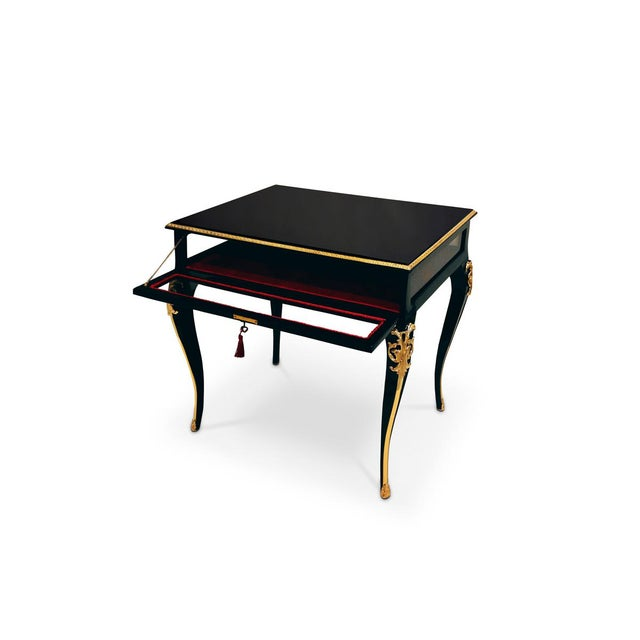 Mid-Century Modern Cabriole Side Table From Covet Paris For Sale - Image 3 of 6