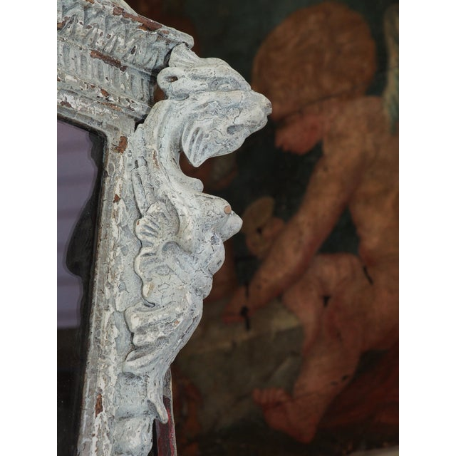 Italian Carved Wood Lantern For Sale - Image 4 of 9