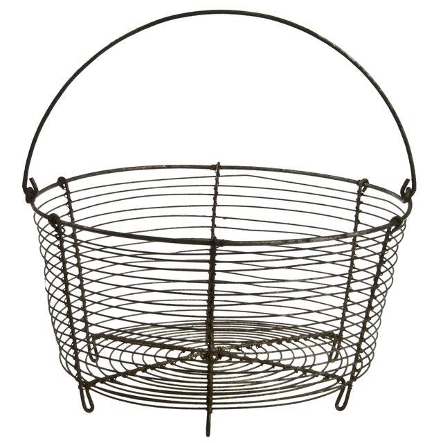 French Wirework Basket - Image 1 of 3