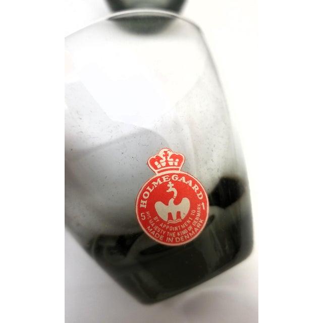 Holmegaard Denmark Mid-Century Smoke Cocktail Glasses - Set of 6 For Sale - Image 9 of 13
