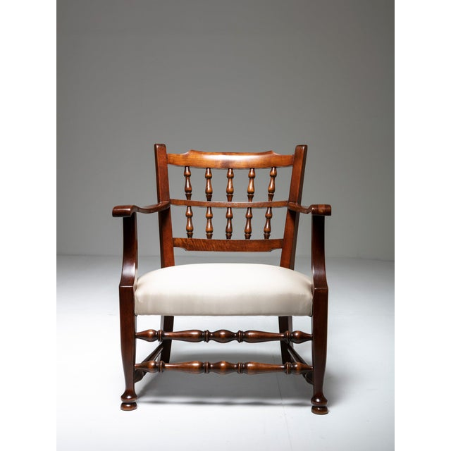 1930s Rare Pair of Armchairs by Tomaso Buzzi For Sale - Image 5 of 7