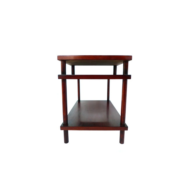 Robsjohn-Gibbings Tiered Side Table for Widdicomb For Sale - Image 5 of 10