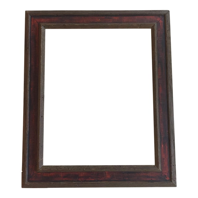Mid-Century Painted Wormwood Frame - Image 1 of 7