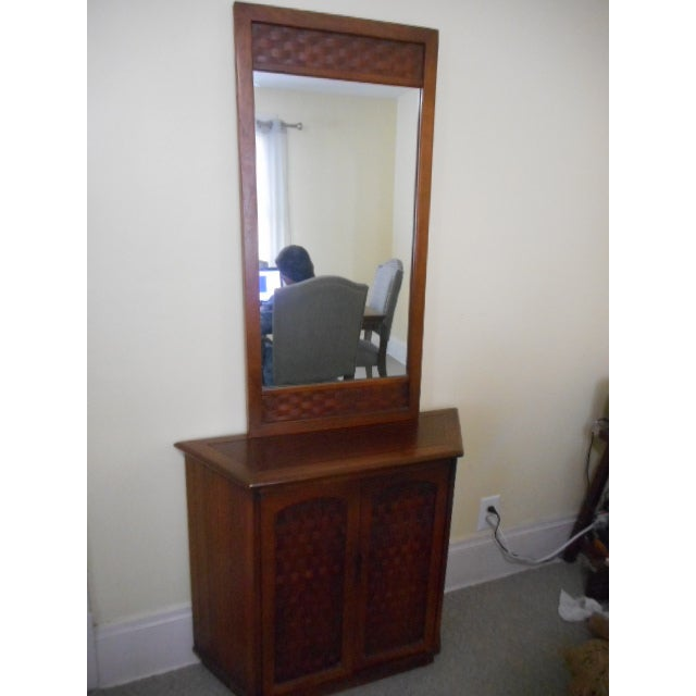 Lane Console Table With Mirror - Image 2 of 9